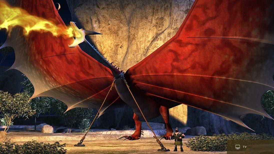 Картинка древоруба из как приручить дракона