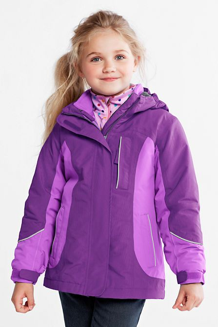 083ae15a0 Girls' Squall® 3-in-1 Waterproof Parka from Lands' End | Wish list ...