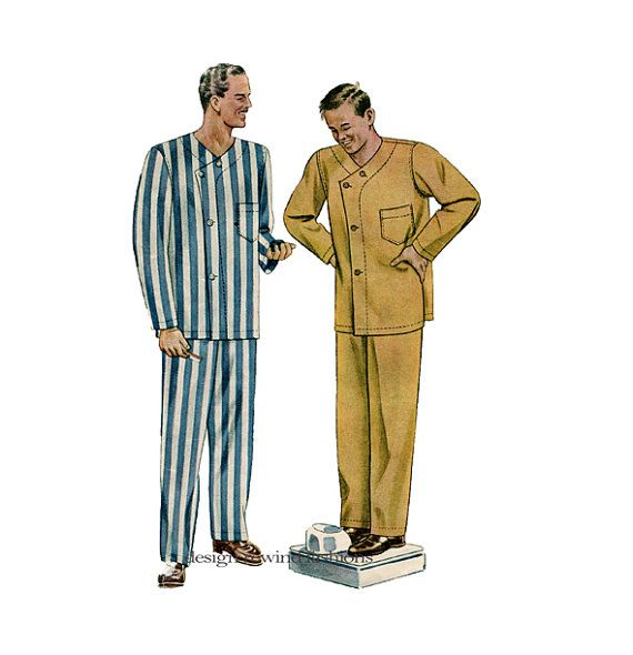 Mens Pyjamas Sets Nightwear Classic Plain PJs