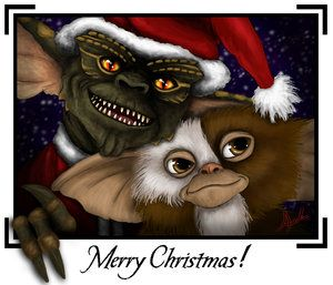 The Gremlins From 1984 What A Great Movie Creepy Christmas Gremlins Horror Films