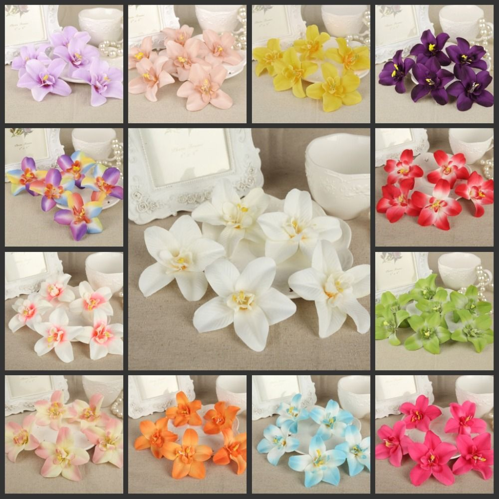50pcs 3 inch artificial silk flowers cattleya hybrida flower head 50pcs 3 inch artificial silk flowers cattleya hybrida flower head home garden decor party wedding favors afh50054 mightylinksfo