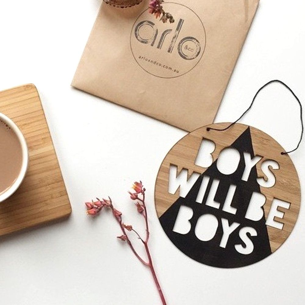 Delightful Boys Will Be Boys, And These Little Truth Speakers Are Perfect For Your  Little Ladu0027s Bedroom Wall, Door Or Playroom. Made From Eco Friendly  Plantation ...