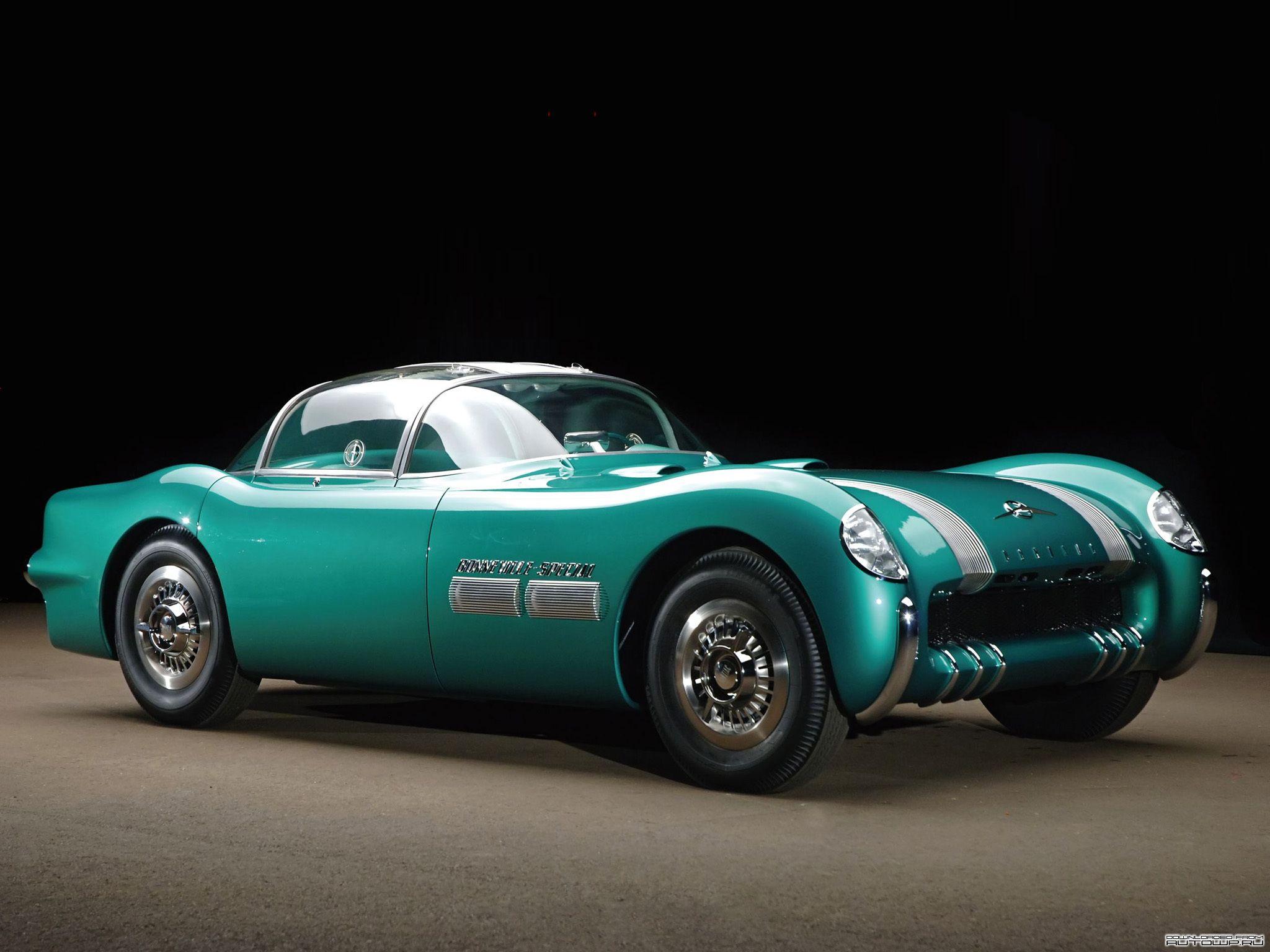 Pontiac Bonneville Concept Car 1954   Love these cars - Some fast ...