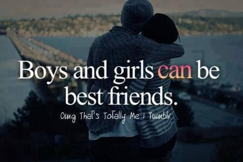 Boys and girls can be best friends quotes quote boys trust ...