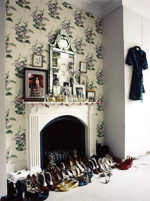 Astuce Déco  Idées de décoration d\u0027une cheminée qui ne sert plus