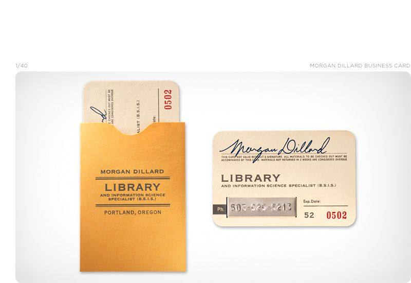 Old fashioned library card inspired business card by the tower of old fashioned library card inspired business card by the tower of babel graphic design studio colourmoves