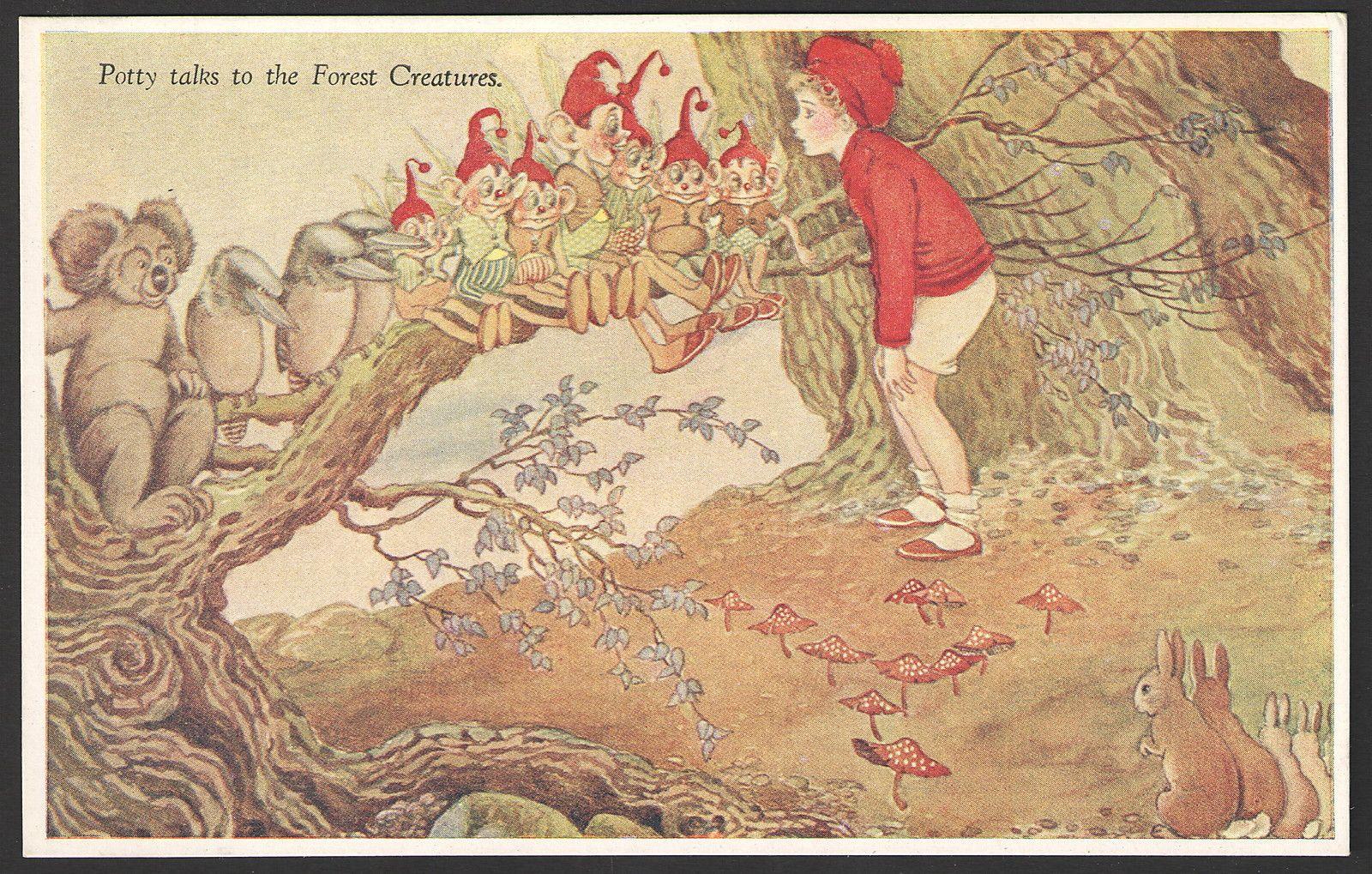 Ida Outhwaite postcard | eBay