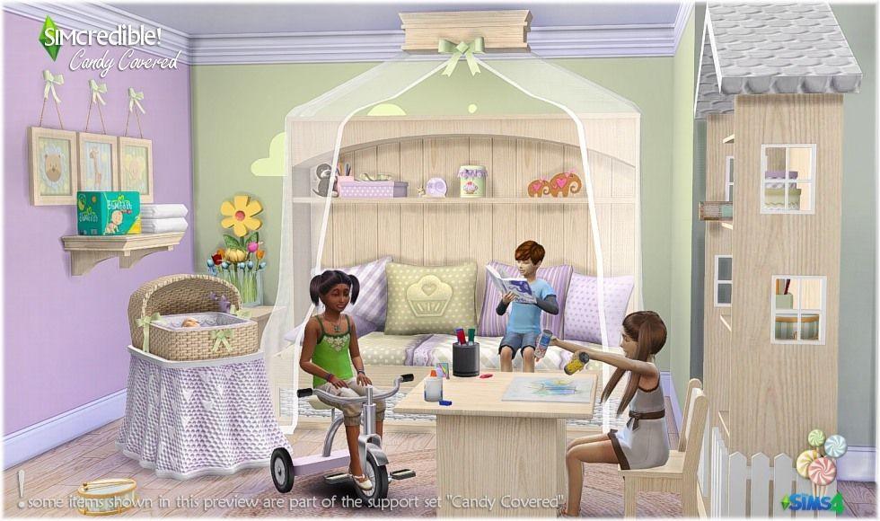 My Sims 4 Blog | Sims 4 Blog, Sims 4 Bedroom, Boy Room