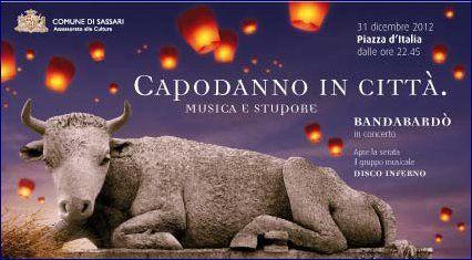 #Capodanno a #Sassari: musica e stupore con la #Bandabardò e le lanterne volanti