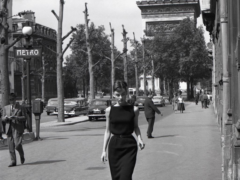 Audrey Hepbern, Paris