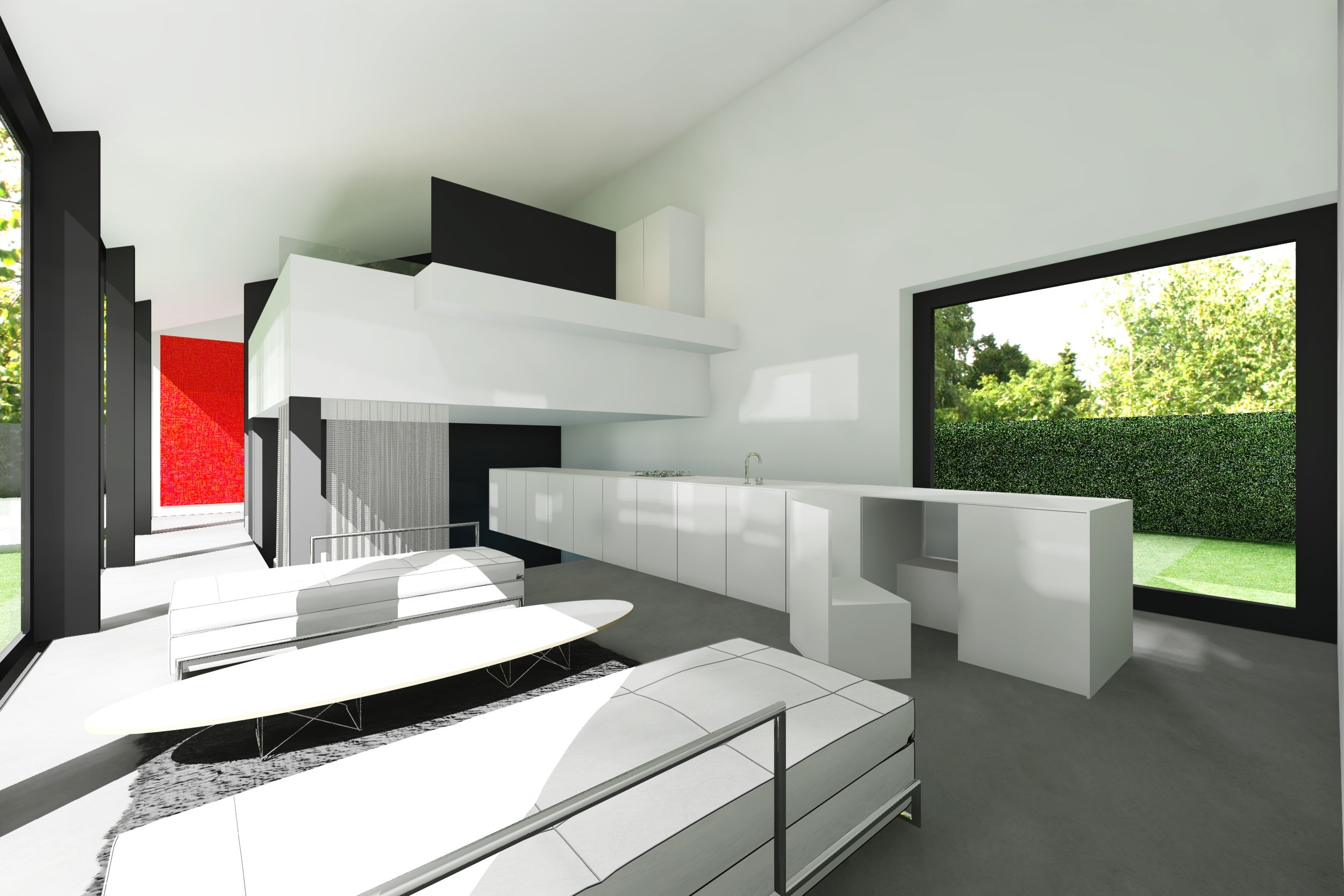 Icoon Be Architecten Minimalist Low Budget House Icoon Be
