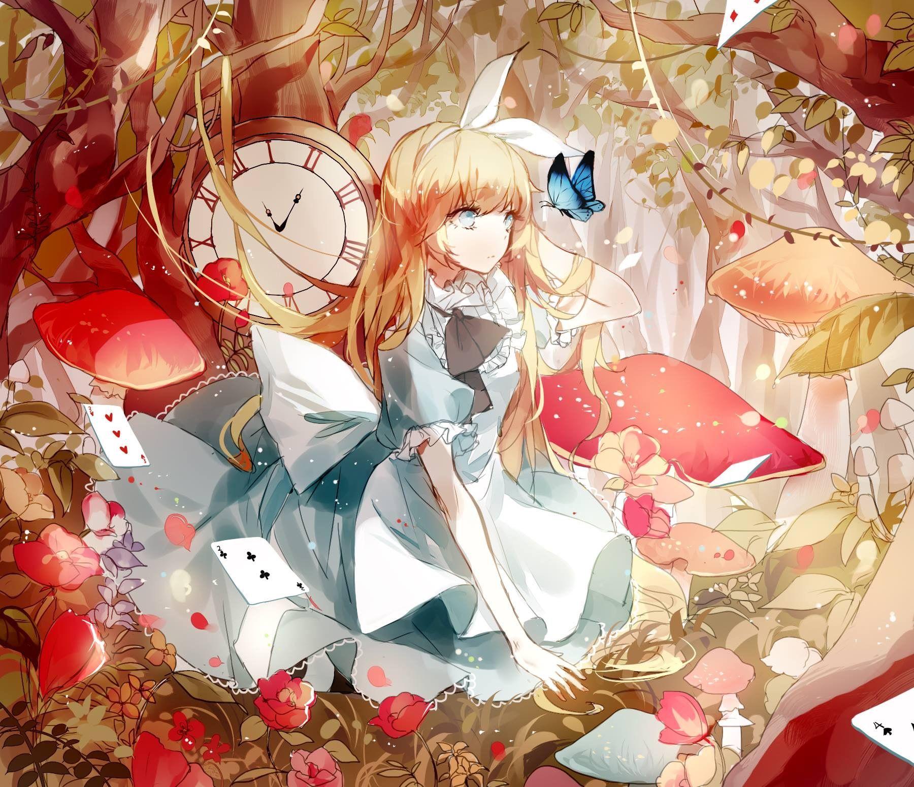 Alice in Wonderland Anime, Alice, Alice in wonderland