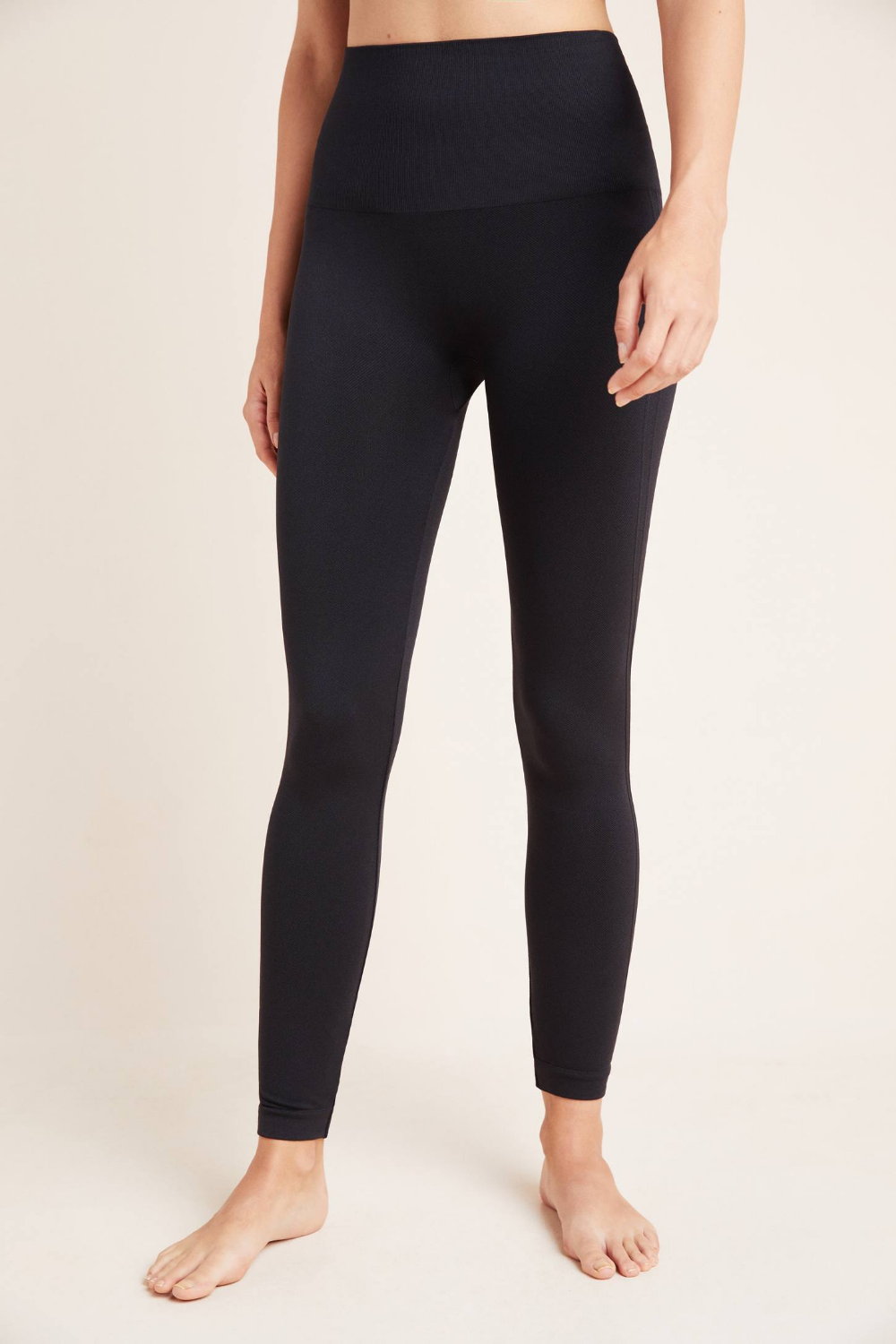 Spanx Seamless Leggings by in Black Size S, Women's