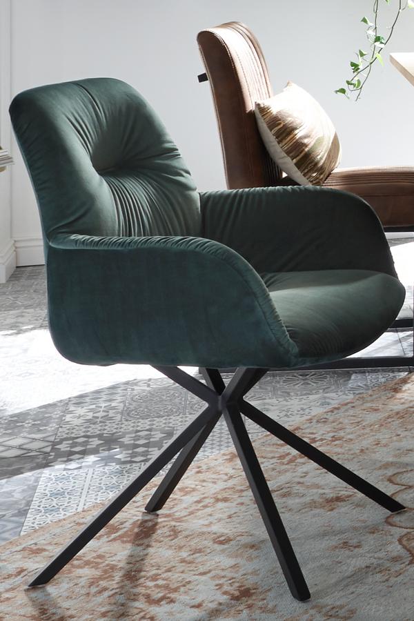 Toll Kombiniert Stuhl Mit Samt Und Metallgestell Stuhle Moderne Stuhle Zuhause