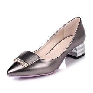4bd1f3d08967 Women s Pumps Closed Toe Heels Chunky Heel Leatherette Shoes