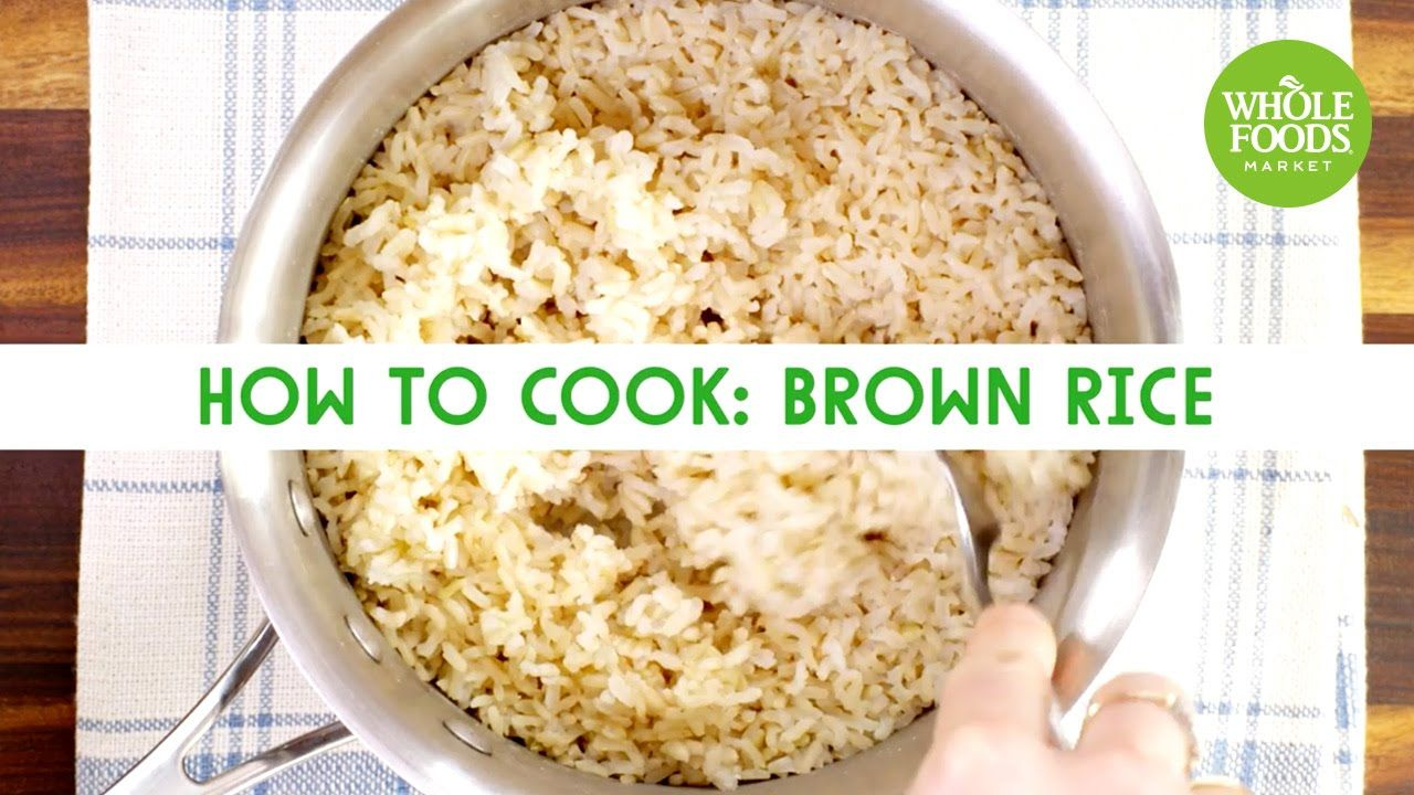 How to Cook: Brown Rice | Freshly Made | Whole Foods Market