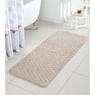 Vcny Chevron Bath Rug 24 X 60 Inches Bath Mat Bath Mat Runner