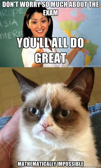 Trouble With The Curve Law School Humor Pinterest Grumpy Cat