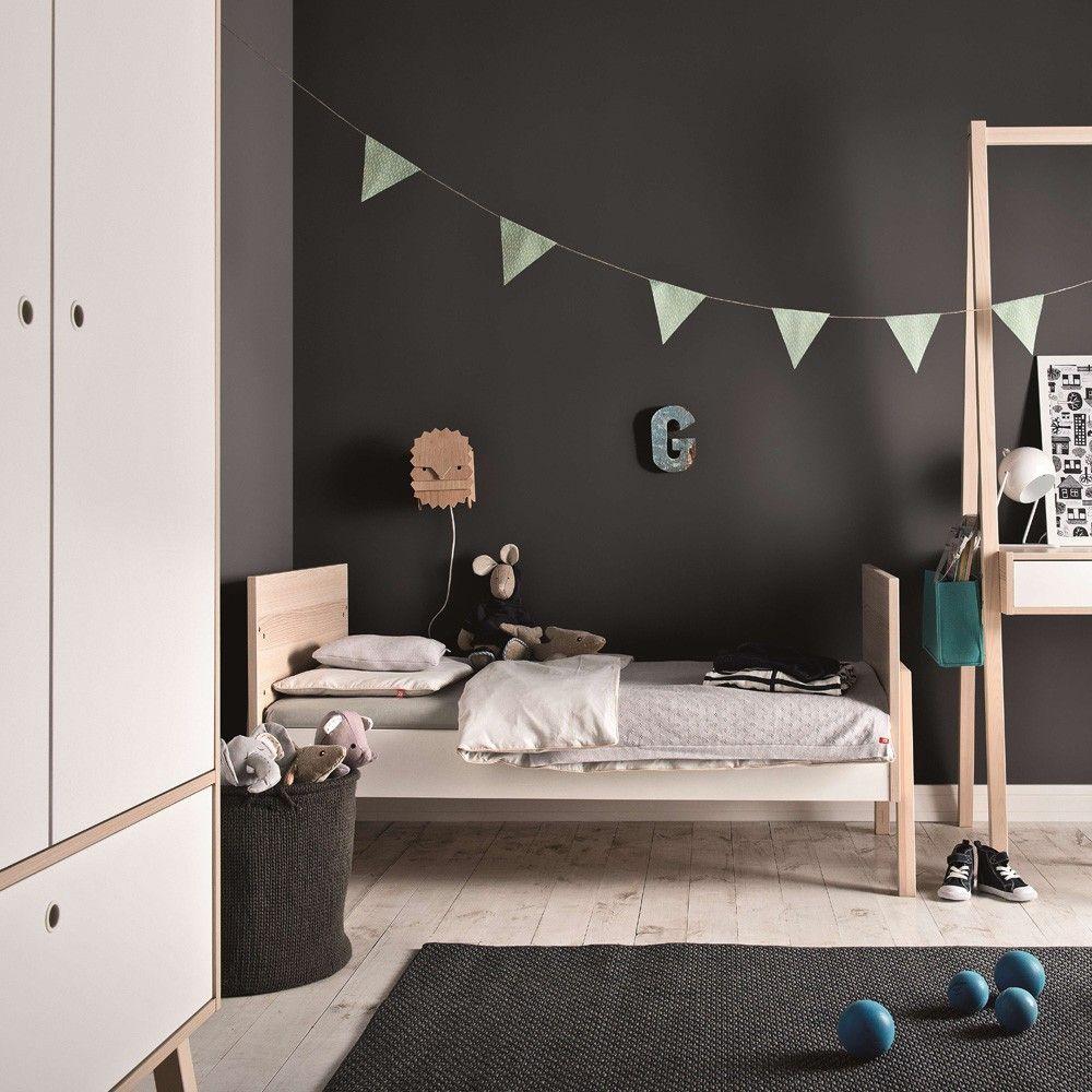 Interior Design Lit Bebe Evolutif Lit Evolutif 70x140 Siki Blanc