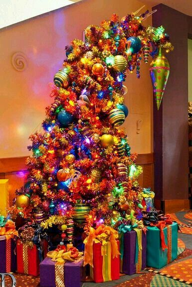 The most colorful tree ever!
