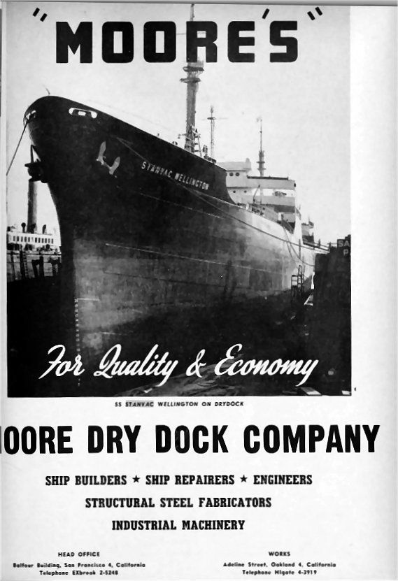 Moore S Dry Dock Wwii Ship Builders City Family Photo Family Roots