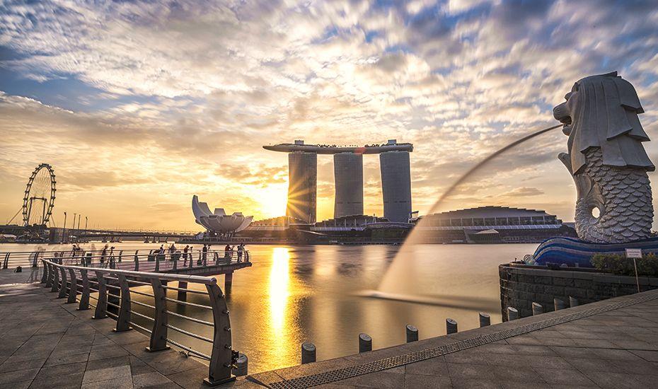 Merlion Park Scenic Destinations Activities In Singapore