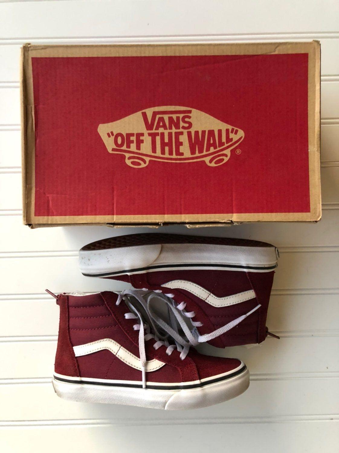 size 1 vans shoes