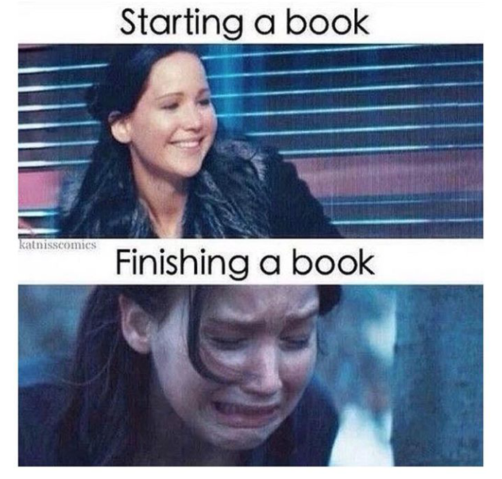 100 Book Memes That Will Keep You Laughing For Days Book Memes Hunger Games Book Humor