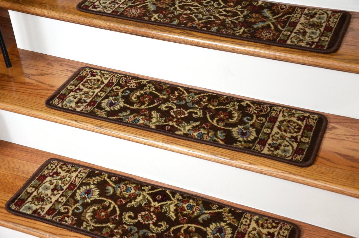 Best Dean Premium Carpet Stair Treads Classic Keshan 400 x 300