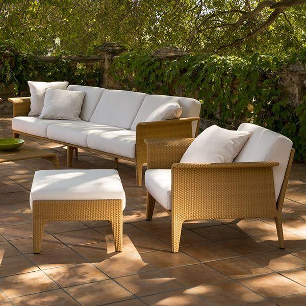Point Sofa U Outdoor Wicker Patio Lounge Homeinfatuation