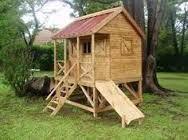 Resultado de imagen para casas de madera para niños precios