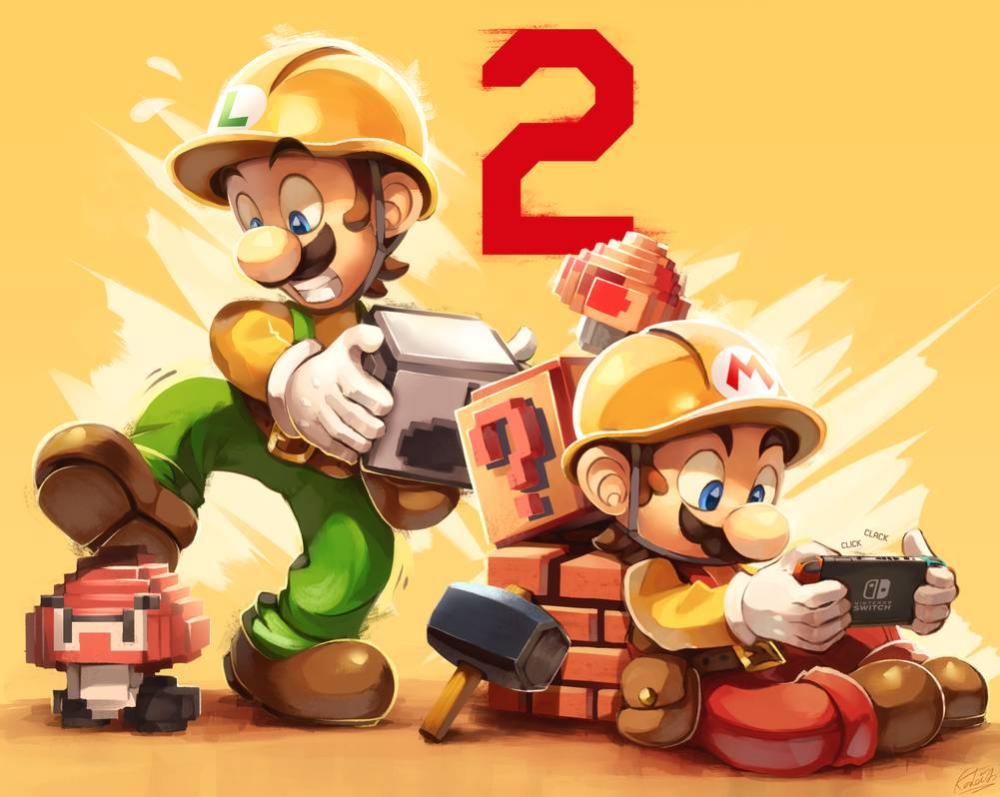 Super Mario Maker 2 by KaleidoArt on DeviantArt Super