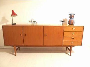 Verwonderend ≥ Fristho design Jaren 60 dressoir - retro vintage - Kasten QD-69