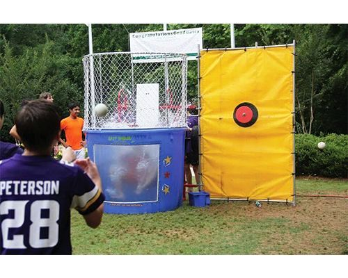 dunk tank rentals the classic dunk tank holds one person sitting