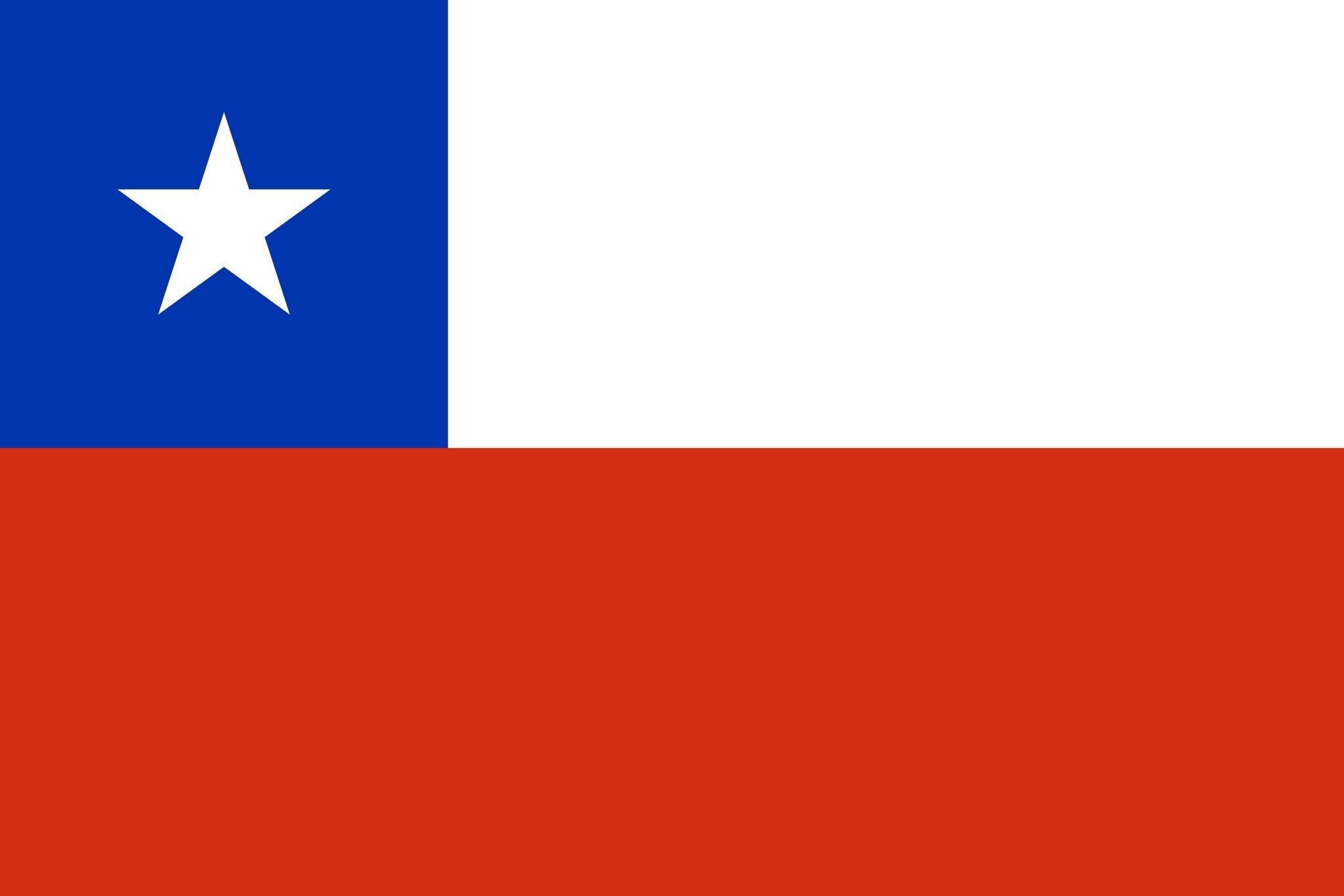 Drapeau Chili | Drapeaux des pays | Pinterest