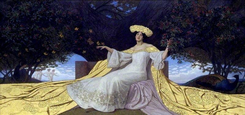 Spring -1904 - Maximilian Lenz (german painter)