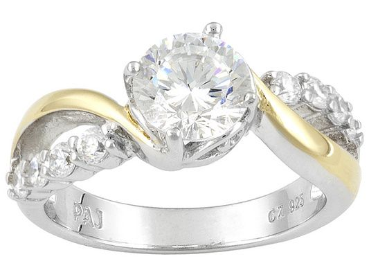 Bella Luce (R) Dillenium 2.13ctw 18k Yellow Gold And ...