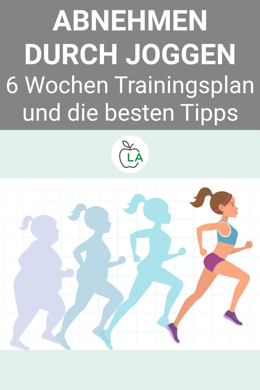 abnehmen in 6 wochen trainingsplan