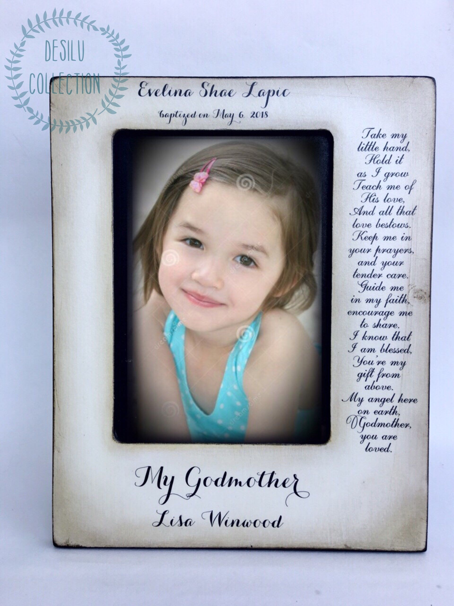 Godmother Gifts Godfather Picture Frames Godparents