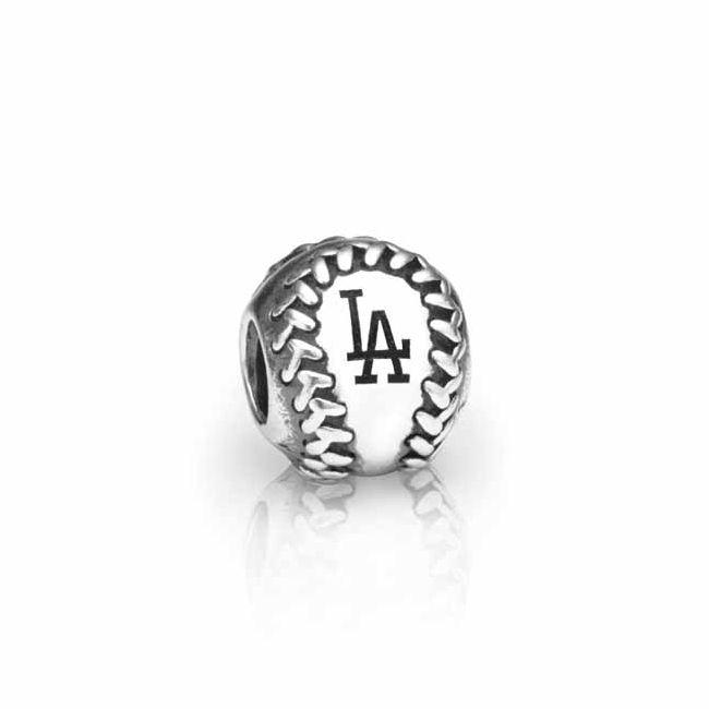Pandora Jewelry Los Angeles: Pandora Los Angeles Dodgers Baseball Charm