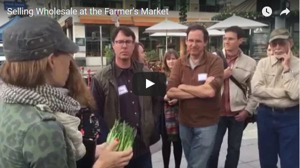 Selling Wholesale at the Farmer's Market