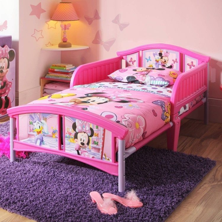 Minnie Mouse Toddler Bed Frame Disney Minnie Mouse Plastic Toddler