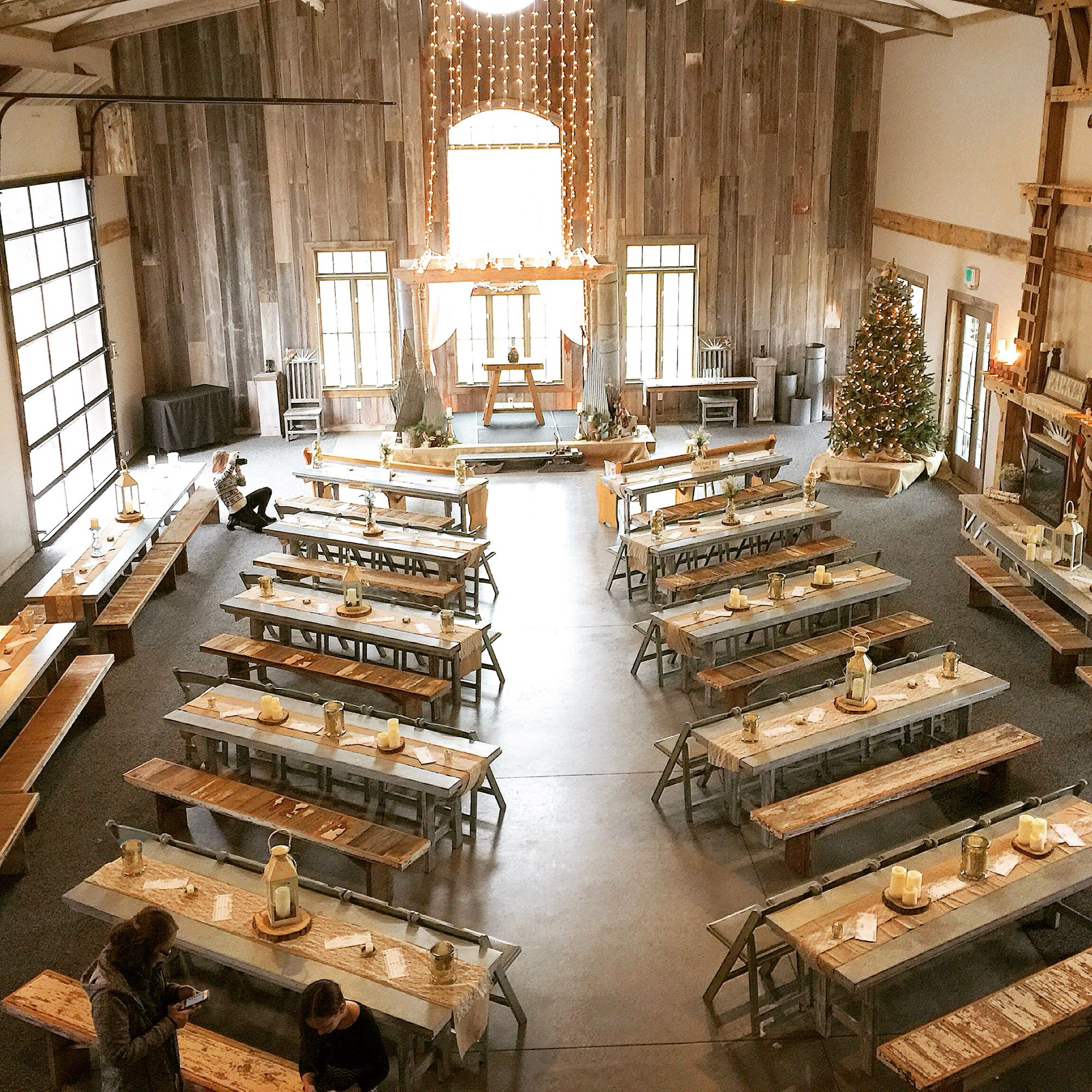 Indoor Wedding Ceremony Victoria Bc: The Barnes Place Is Wonderful Rustic Venue With Options