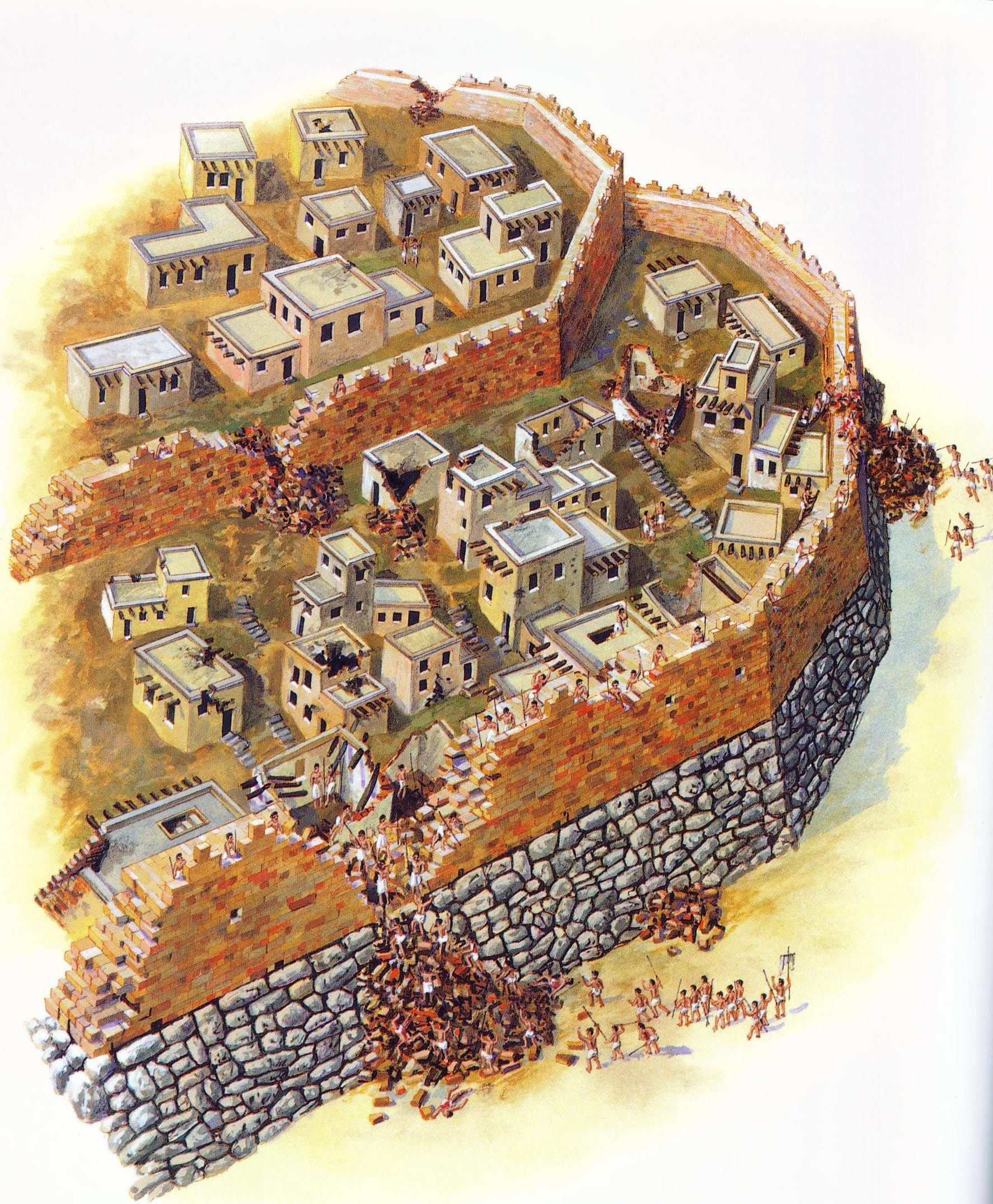 JERICHO, ISRAEL - and the walls came down
