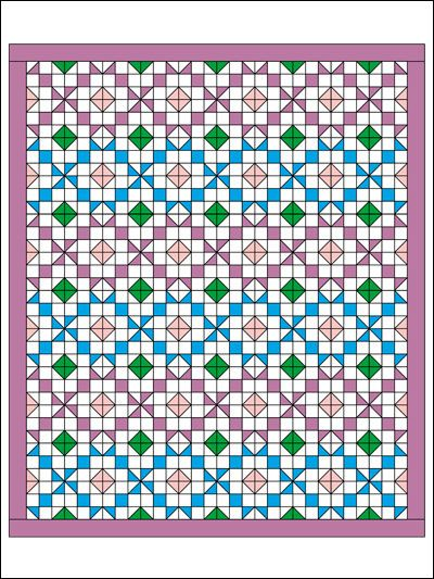 Quilted Home Decor - Bed Quilt Patterns - Southwest Reunion