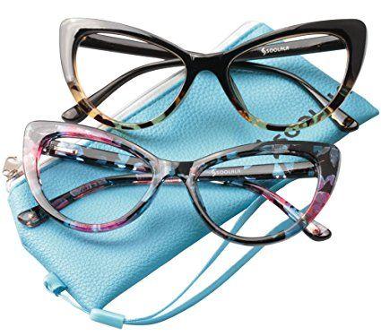 82a47768a00 SOOLALA Womens Oversized Fashion Cat Eye Eyeglasses Frame Large Reading  Glasses Review