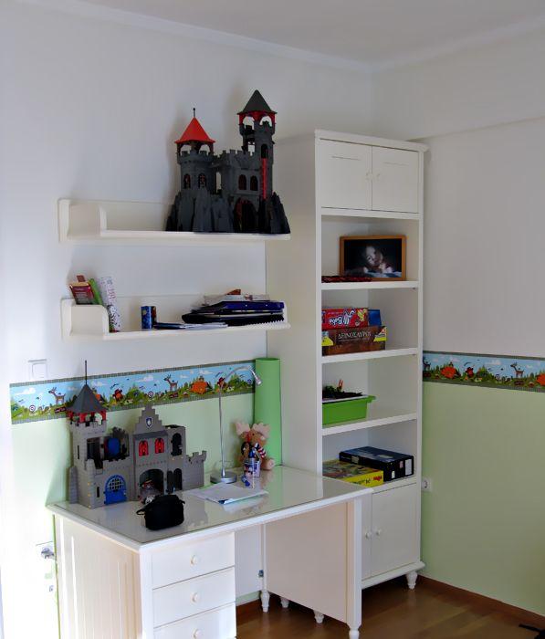 c9f5db8c502 Παιδικό γραφείο - βιβλιοθήκη Θεσσαλονίκη | παιδικό έπιπλο | Bookcase ...