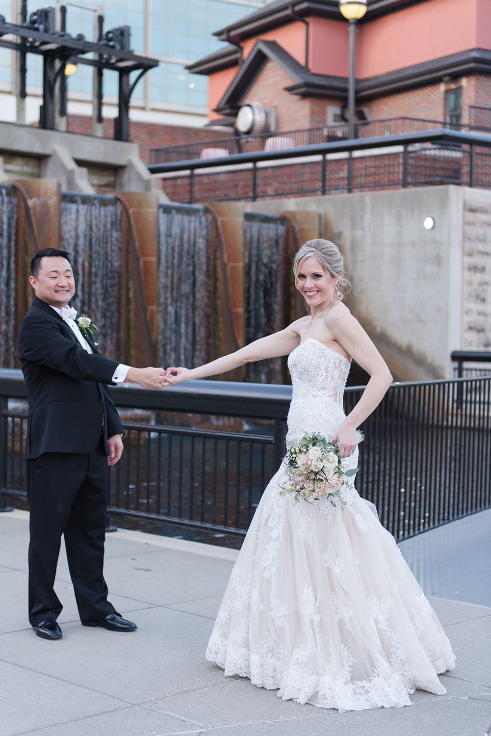 Indianapolis, Indiana wedding reception - industrial ...