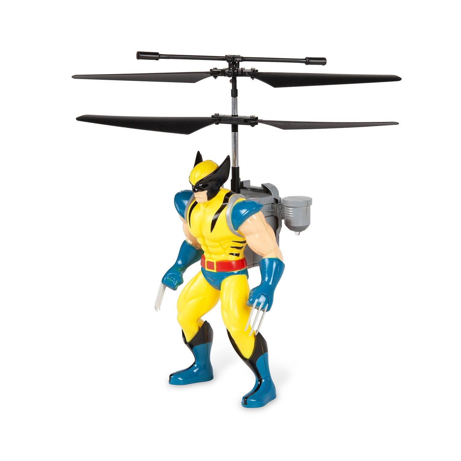 World Tech Toys Wolverine Jetpack Flying Figure Helicopter #techtoys