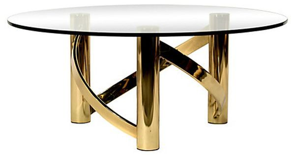Brass Glass Coffee Table Boho Luxe Pinterest Brass Glass